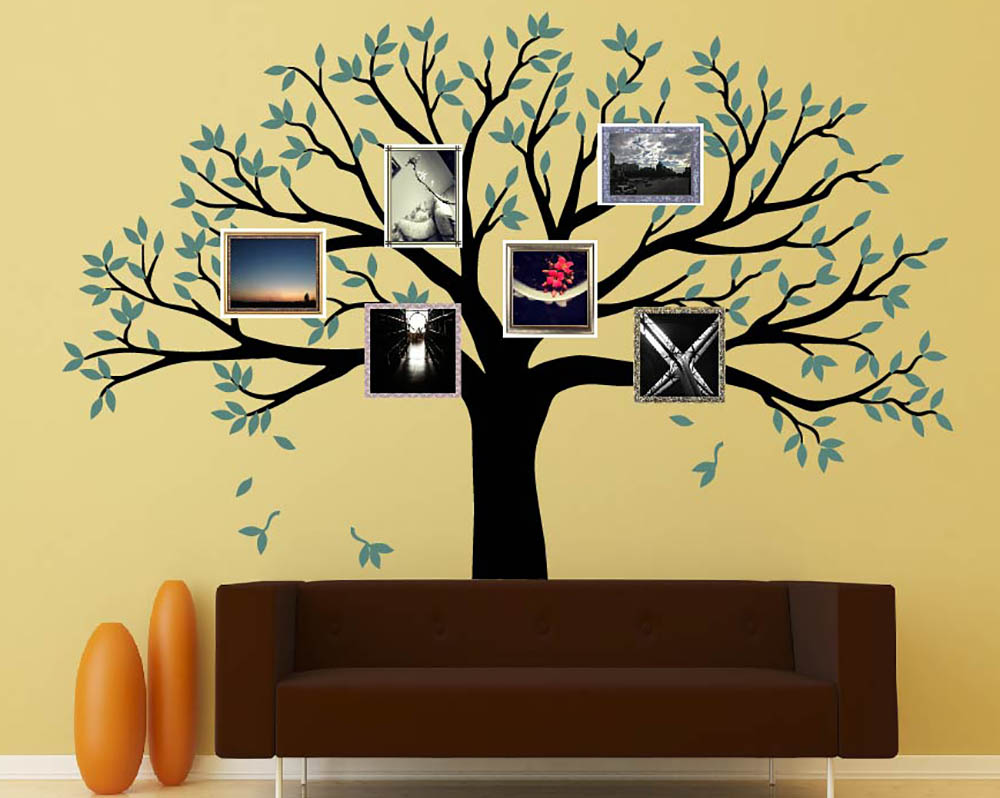 Family Tree Wall Decals - Vinyl Wall Art Stickers